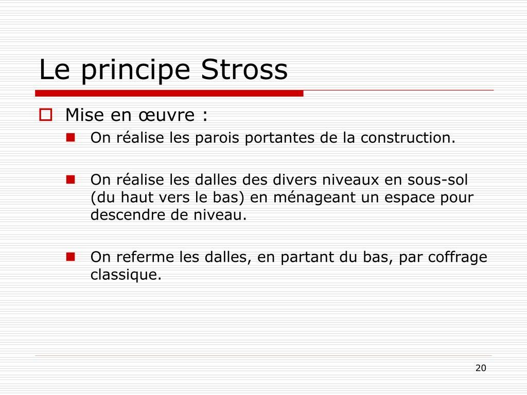 Le principe Stross