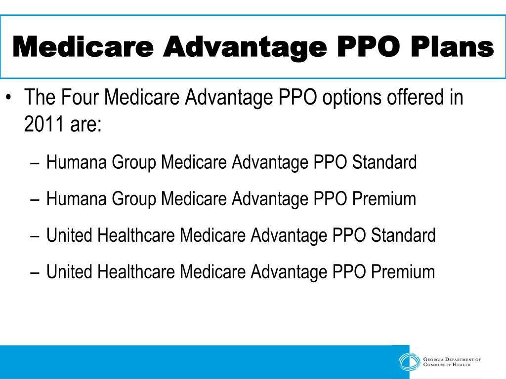 Medicare Advantage PPO Plans