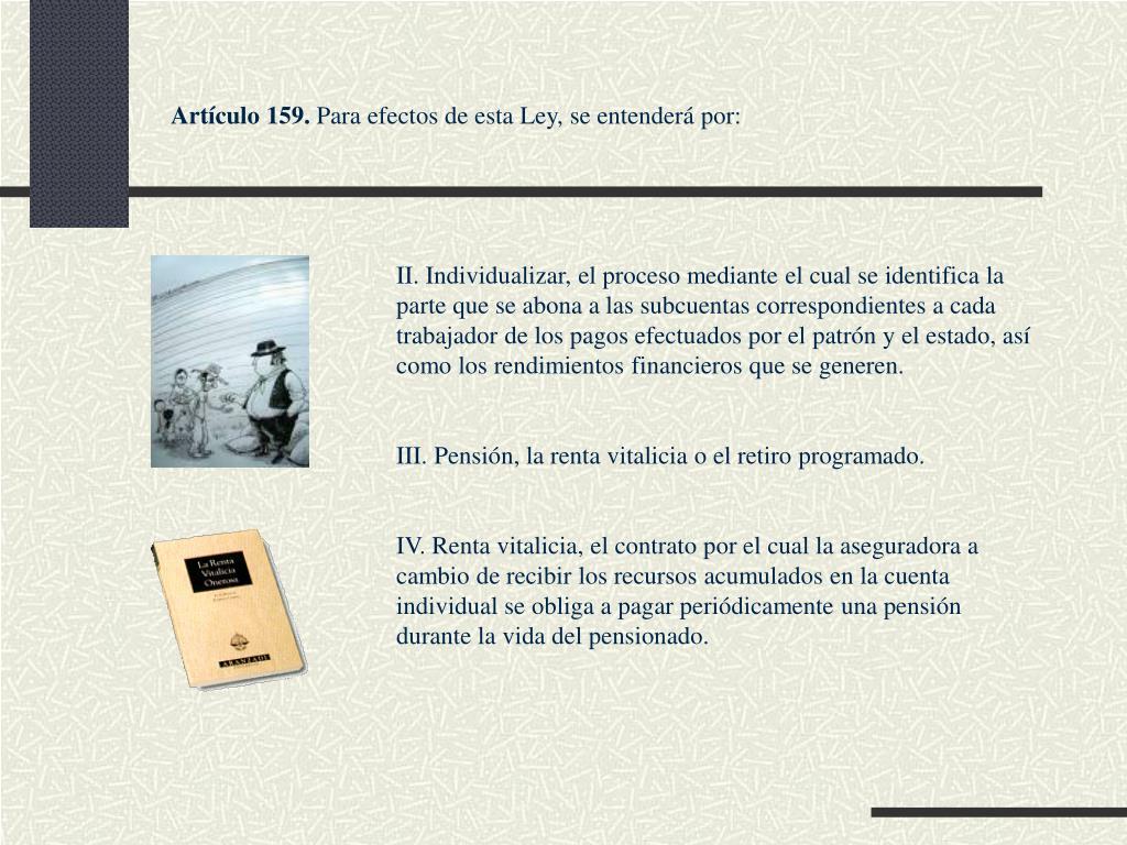 Artículo 159.