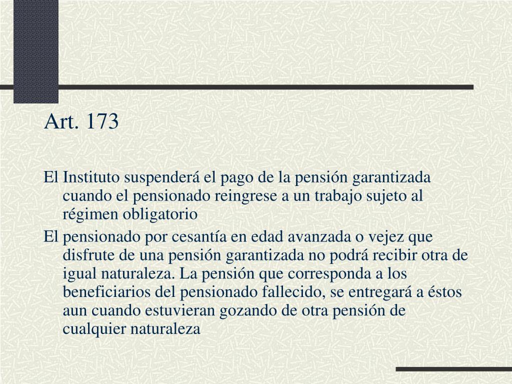 Art. 173
