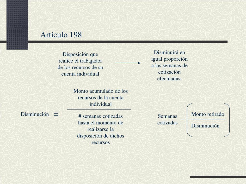 Artículo 198
