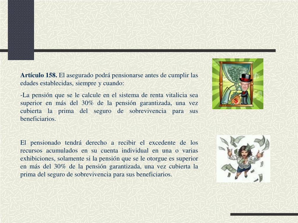 Artículo 158.