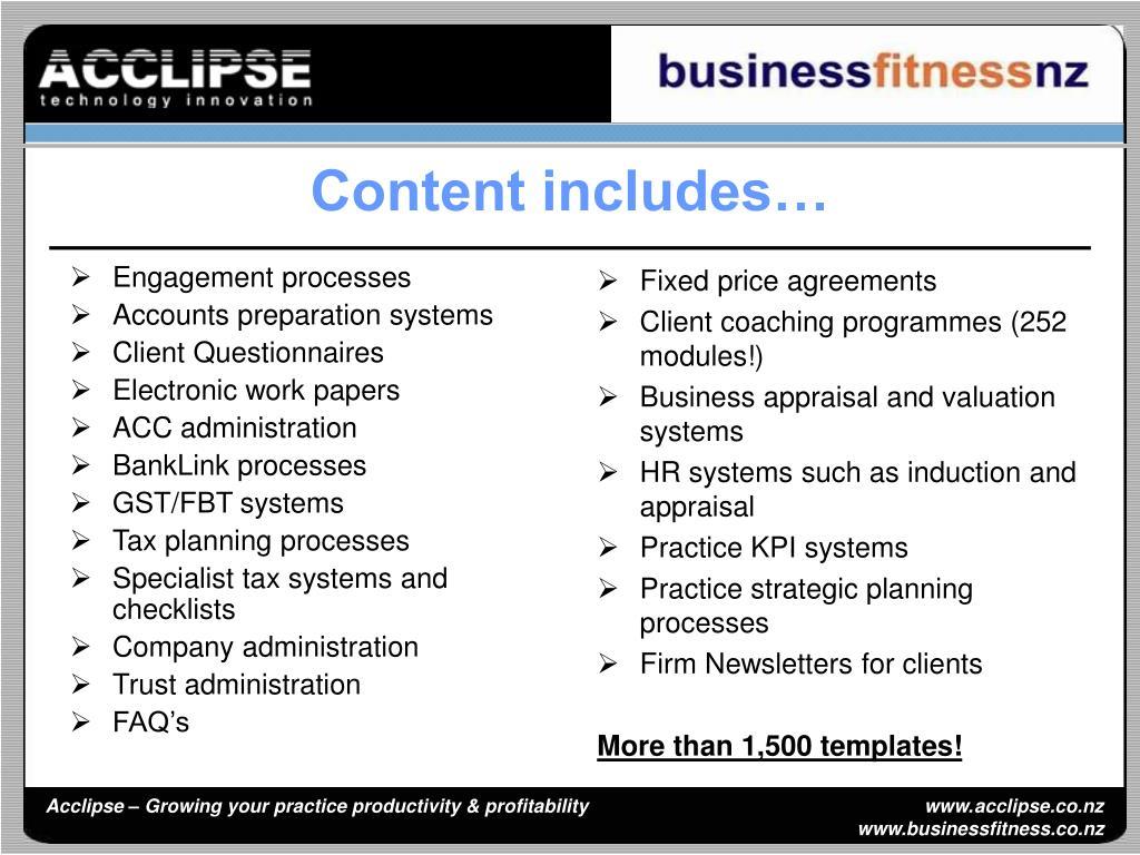 Engagement processes