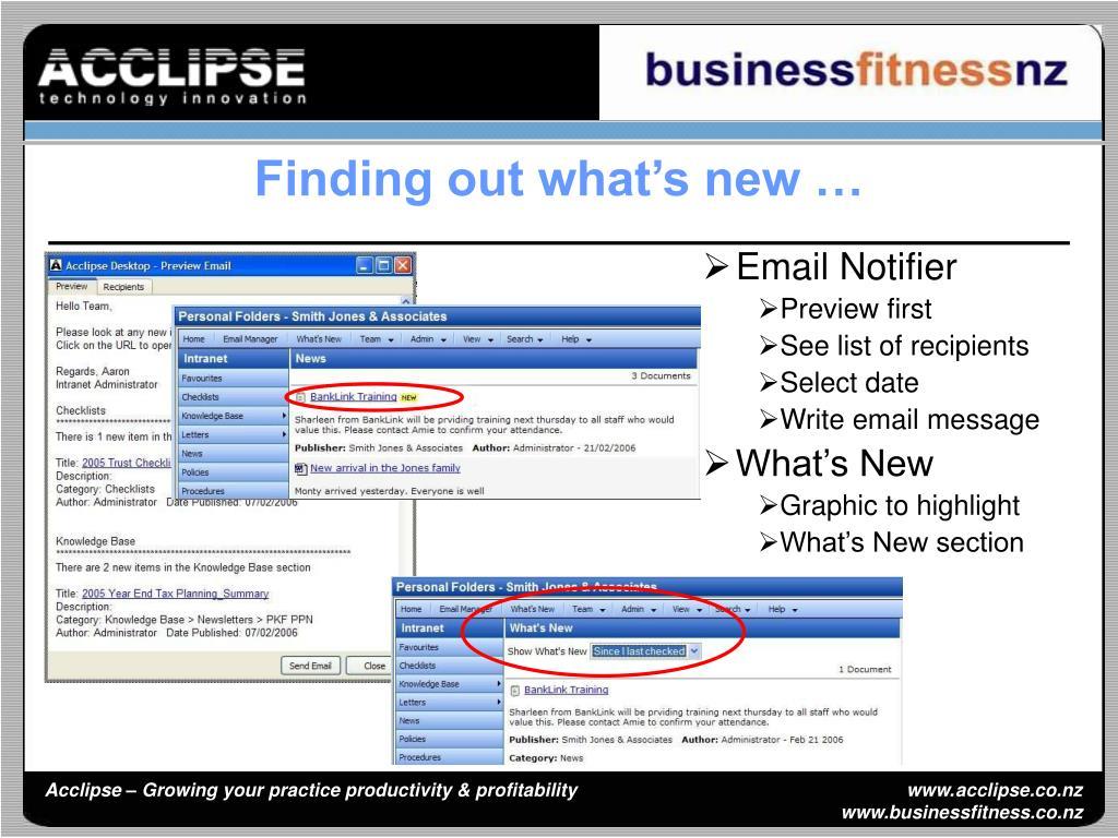Email Notifier