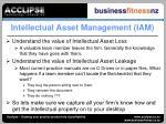 intellectual asset management iam