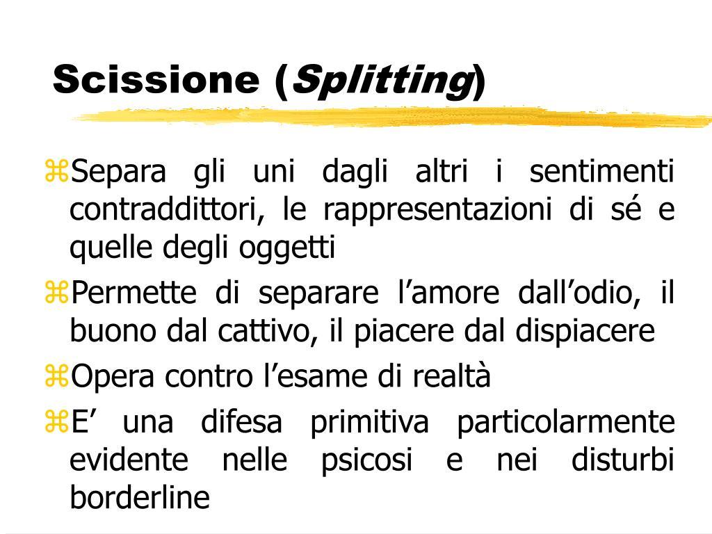 Scissione (
