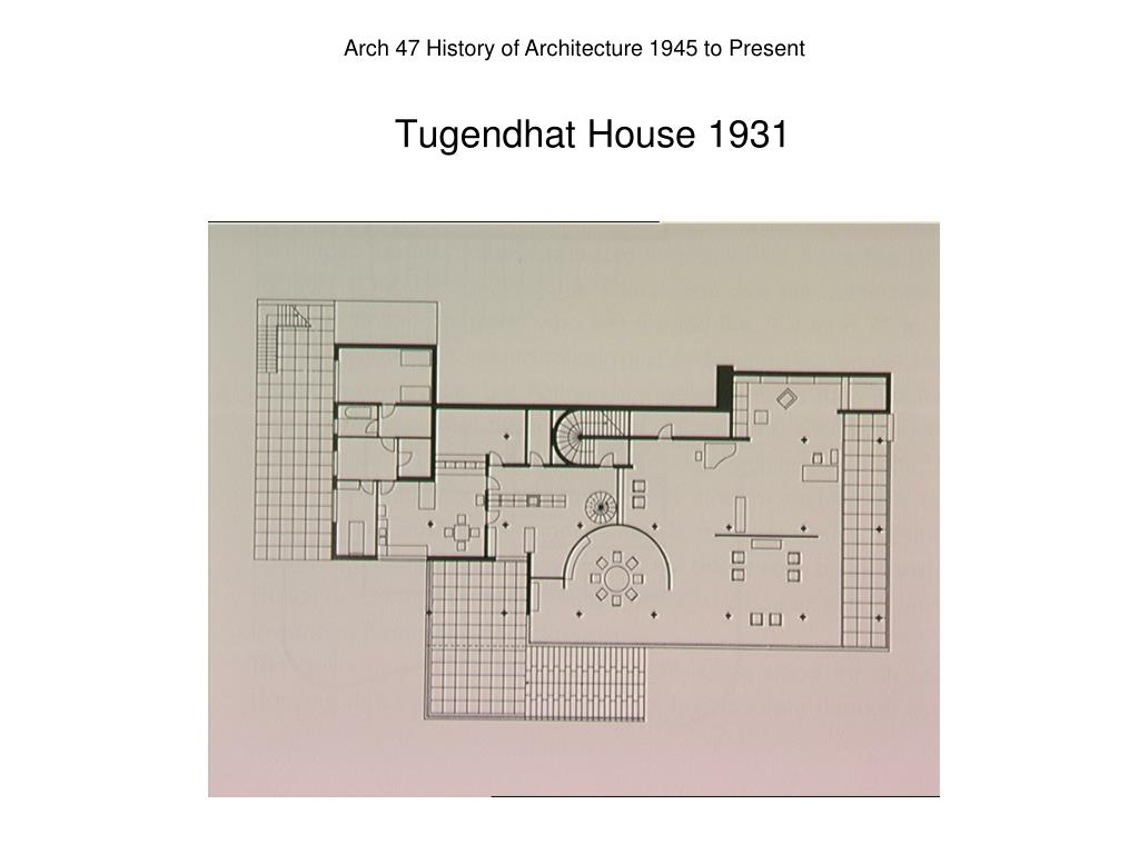 Tugendhat House 1931