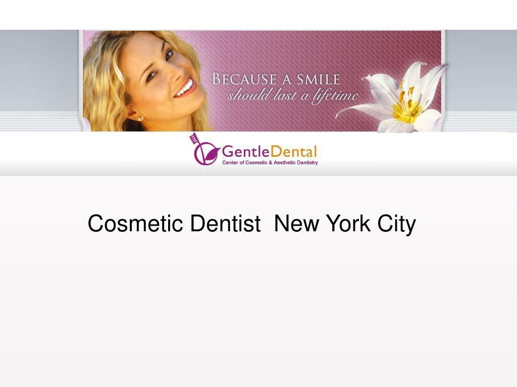 Cosmetic Dentist  New York City