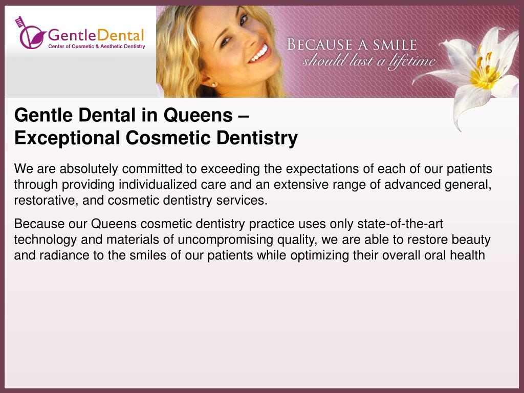 Gentle Dental in Queens –