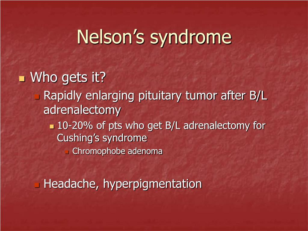 Nelson's syndrome