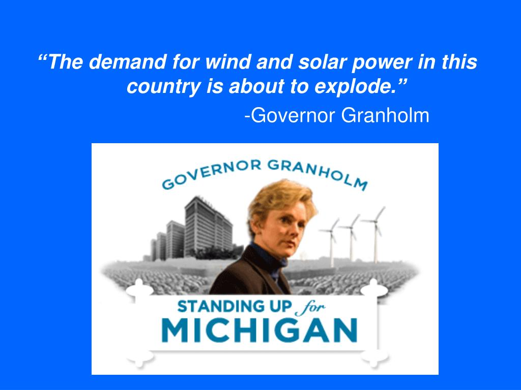 """The demand for wind and solar power in this country is about to explode."""