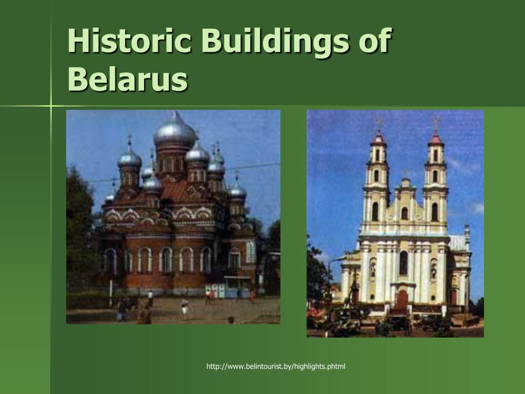 Historic Buildings of Belarus