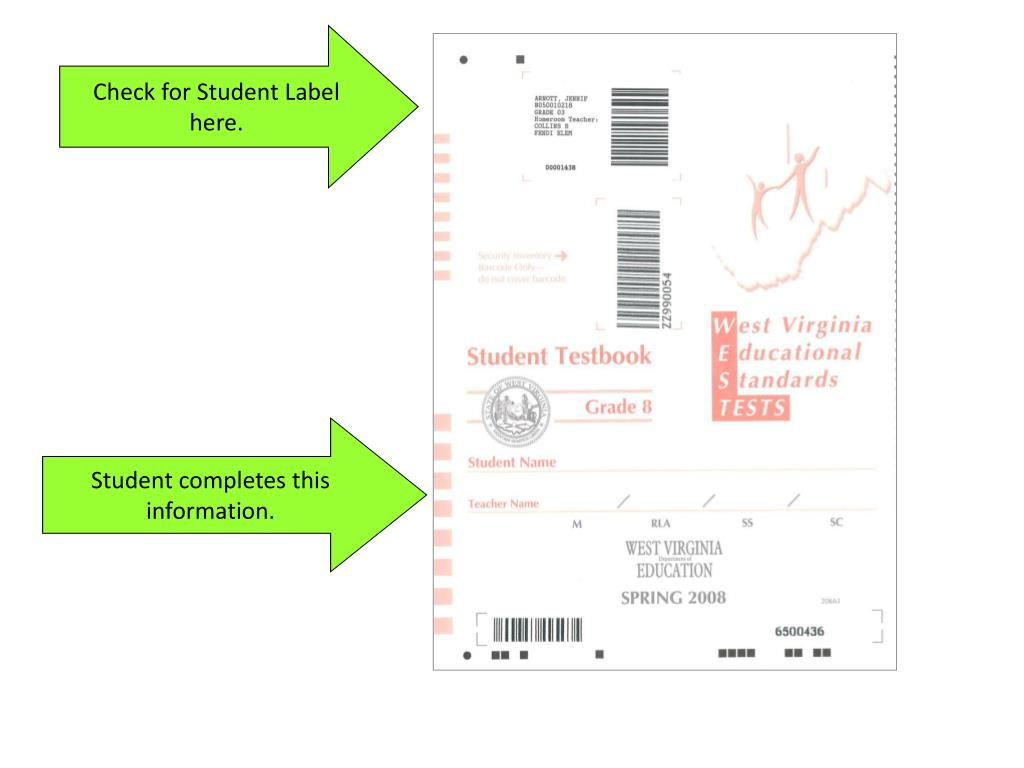 Check for Student Label