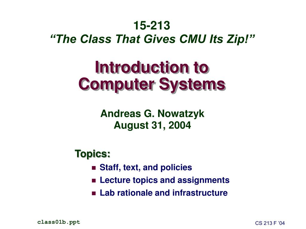 PPT Introduction to Computers PowerPoint presentation