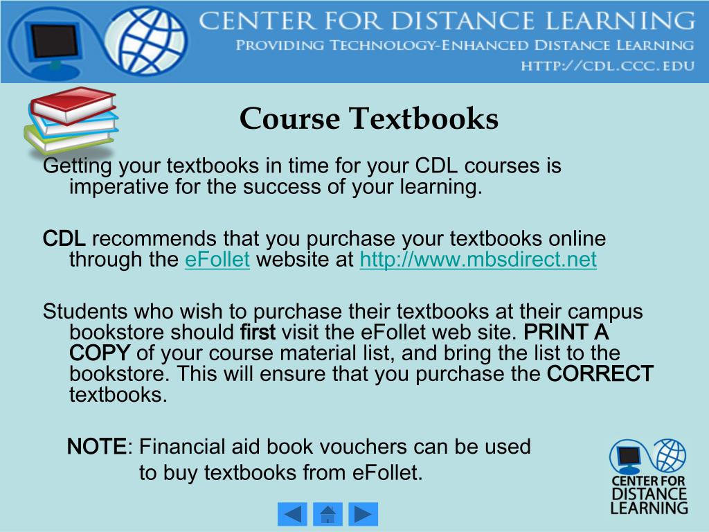 Course Textbooks