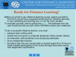 ready for distance learning