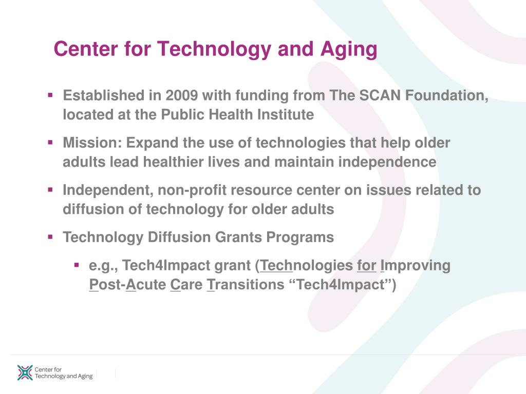 Center for Technology and Aging
