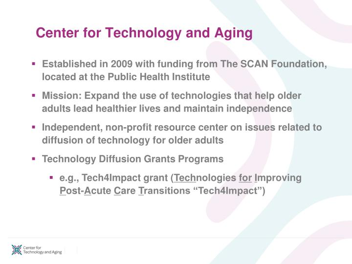 Center for technology and aging l.jpg