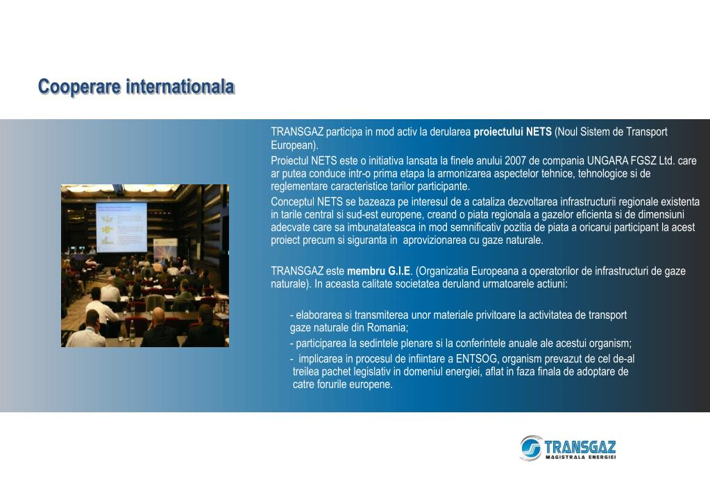 Cooperare internationala