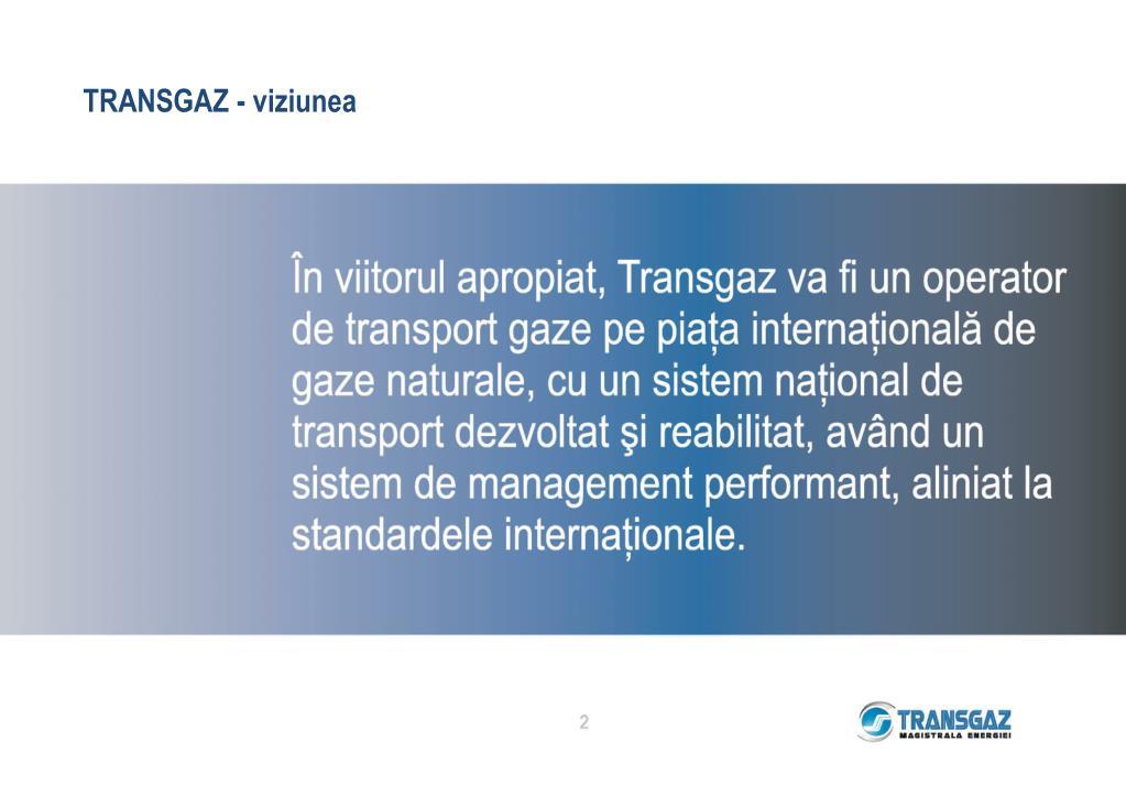 TRANSGAZ -