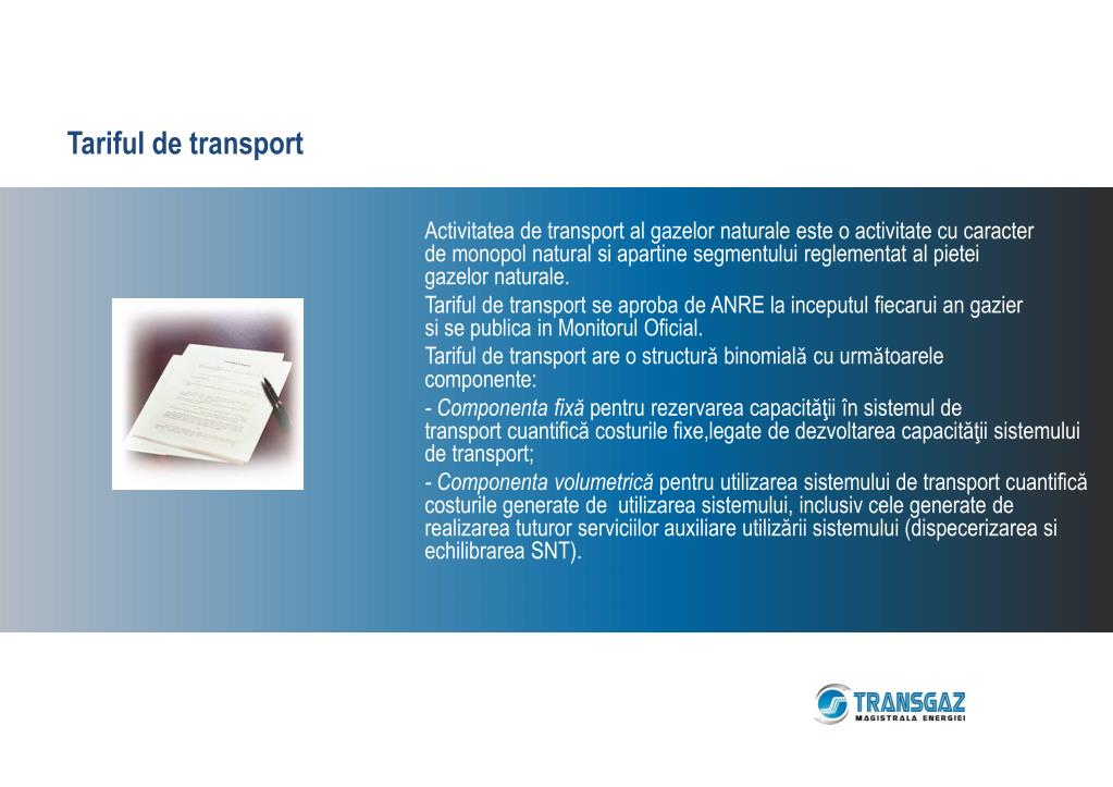 Tariful de transport