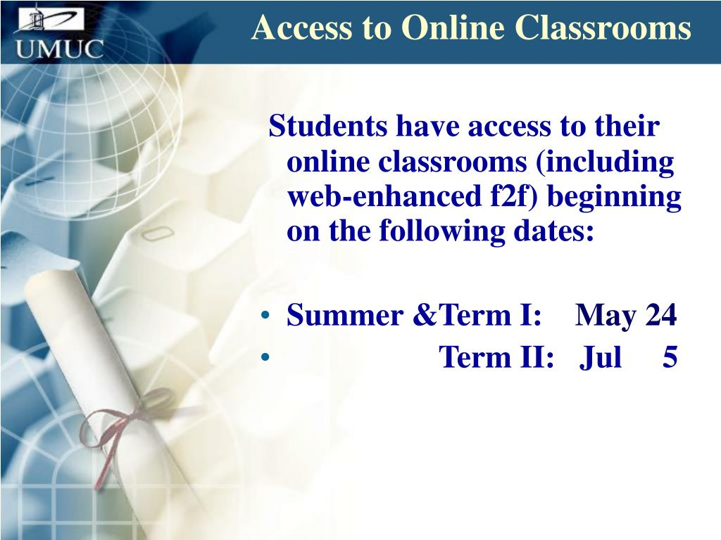 Access to Online Classrooms