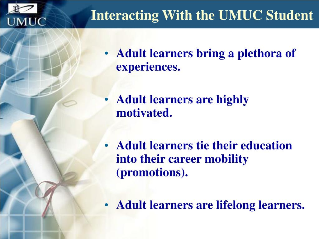 Interacting With the UMUC Student