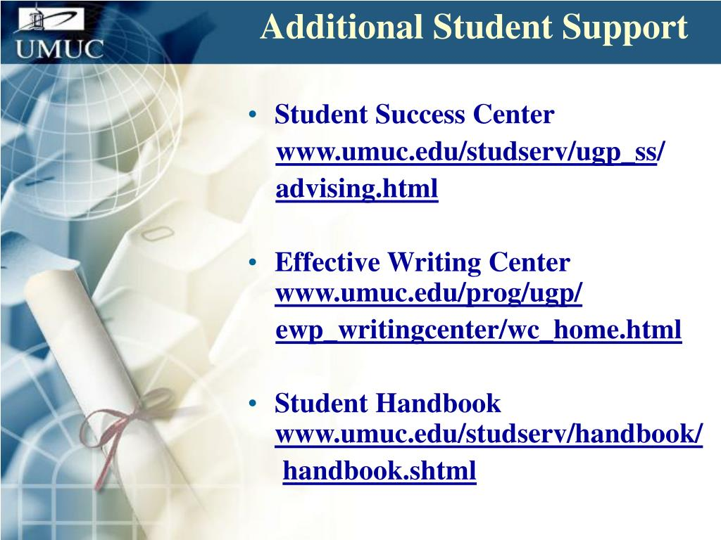 Additional Student Support