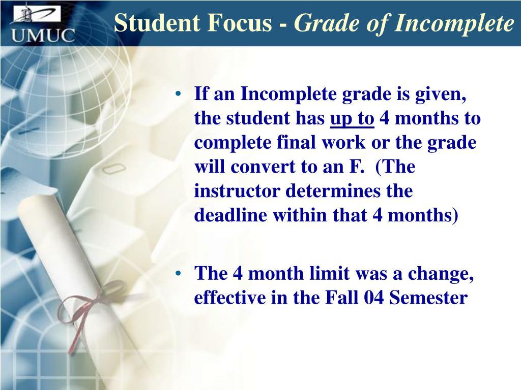 Student Focus -