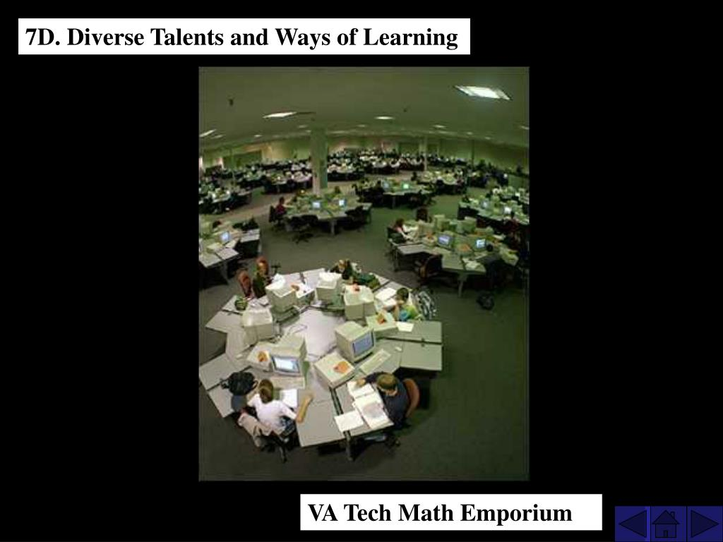 7D. Diverse Talents and Ways of Learning