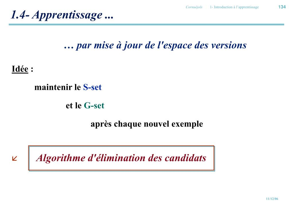 1.4- Apprentissage ...