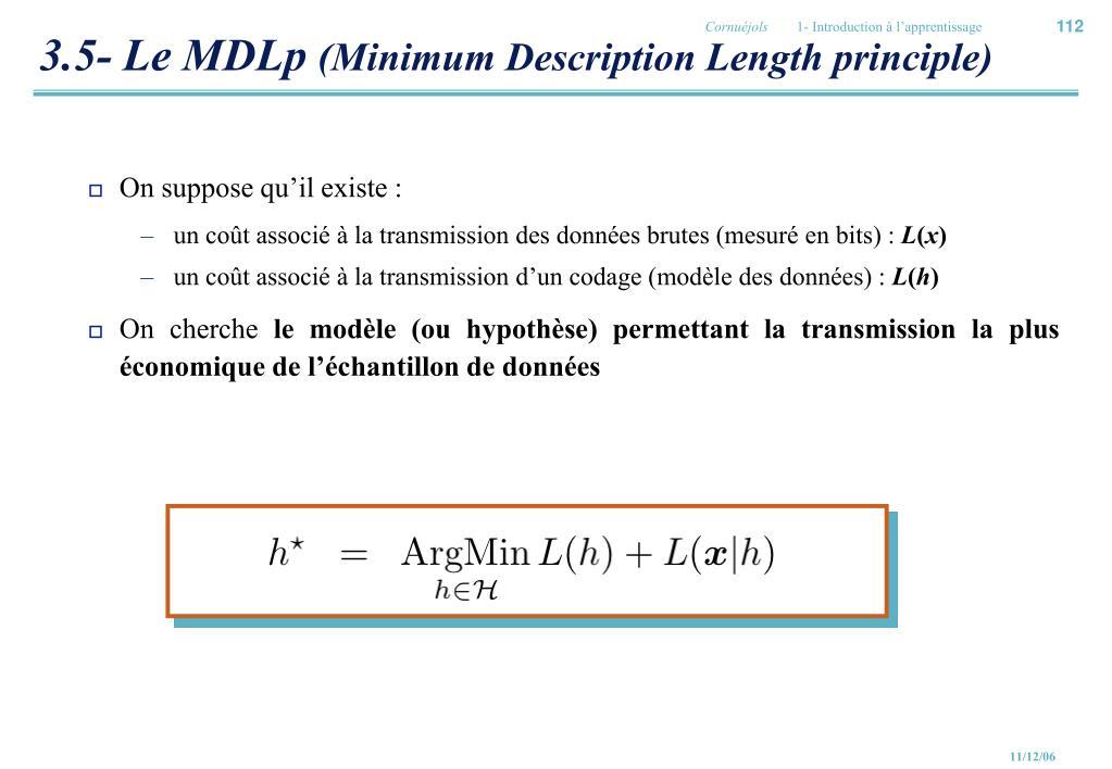 3.5- Le MDLp