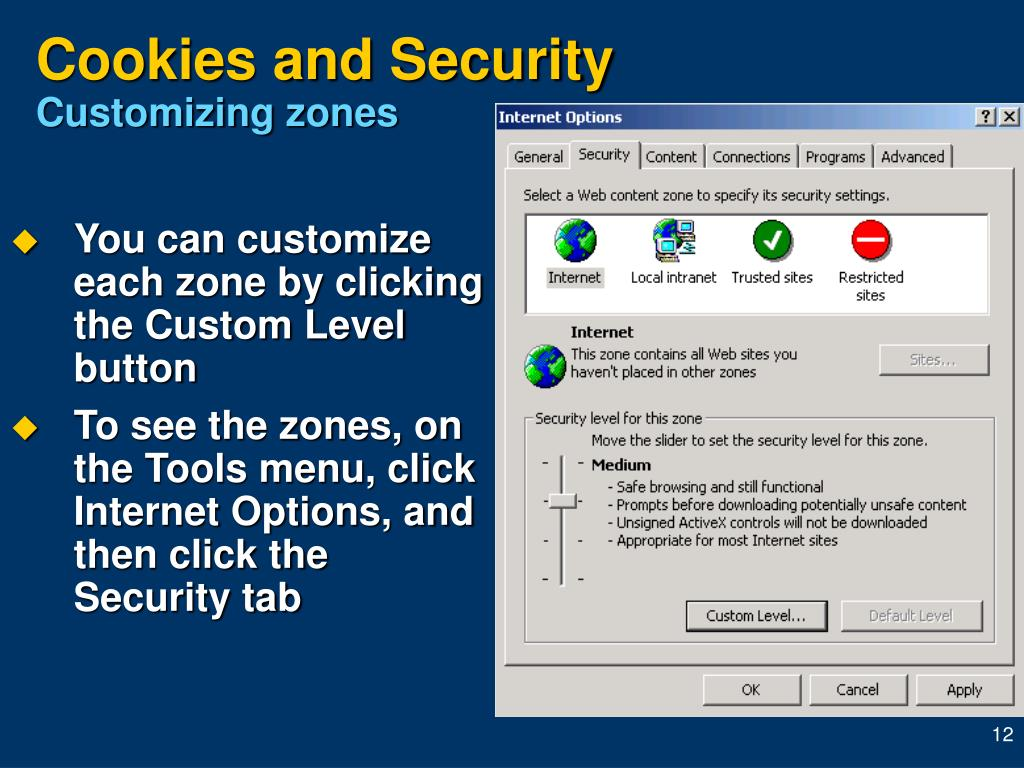 Cookies and Security