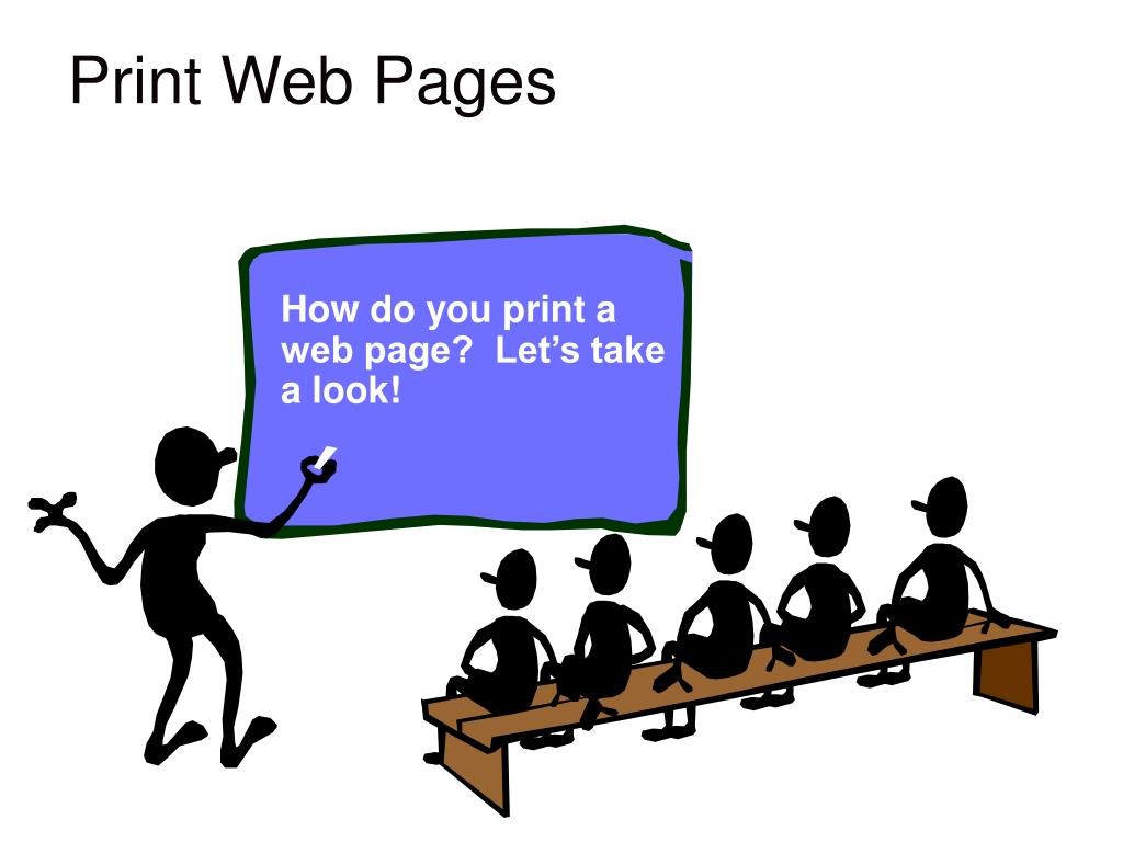Print Web Pages
