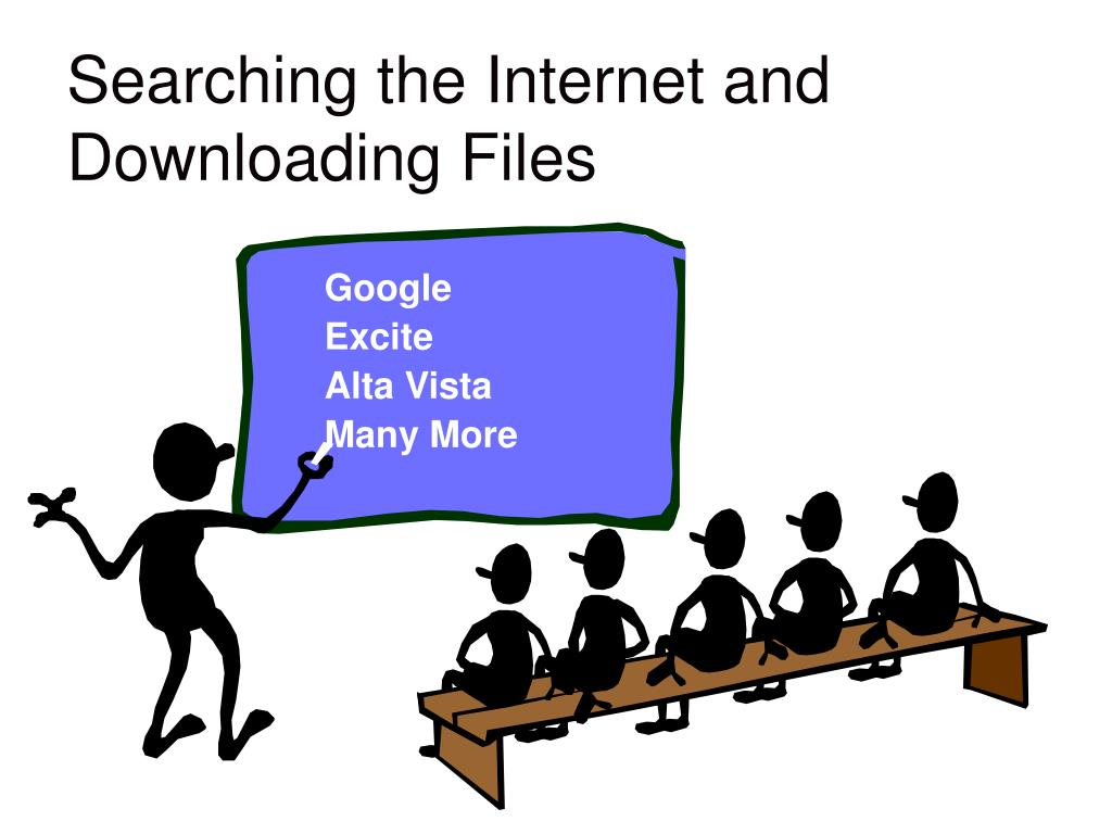 Searching the Internet and Downloading Files