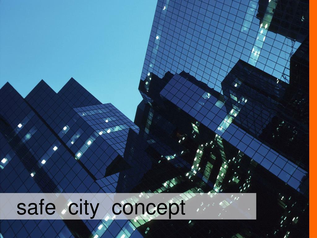 safe  city  concept
