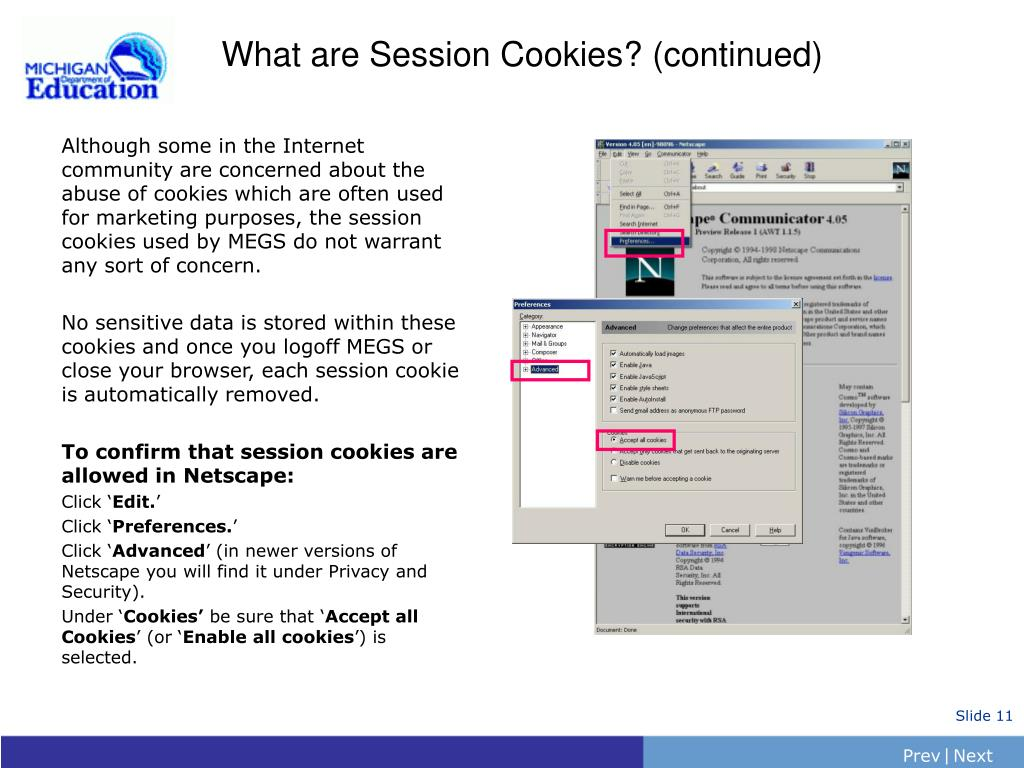 What are Session Cookies? (continued)
