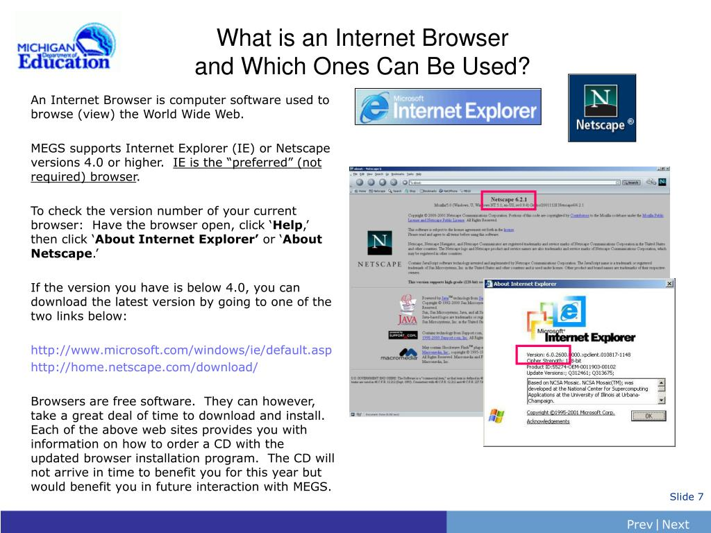 What is an Internet Browser