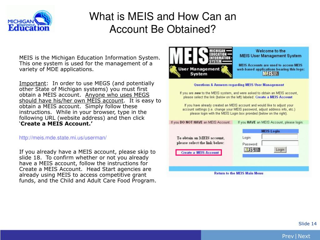 What is MEIS and How Can an