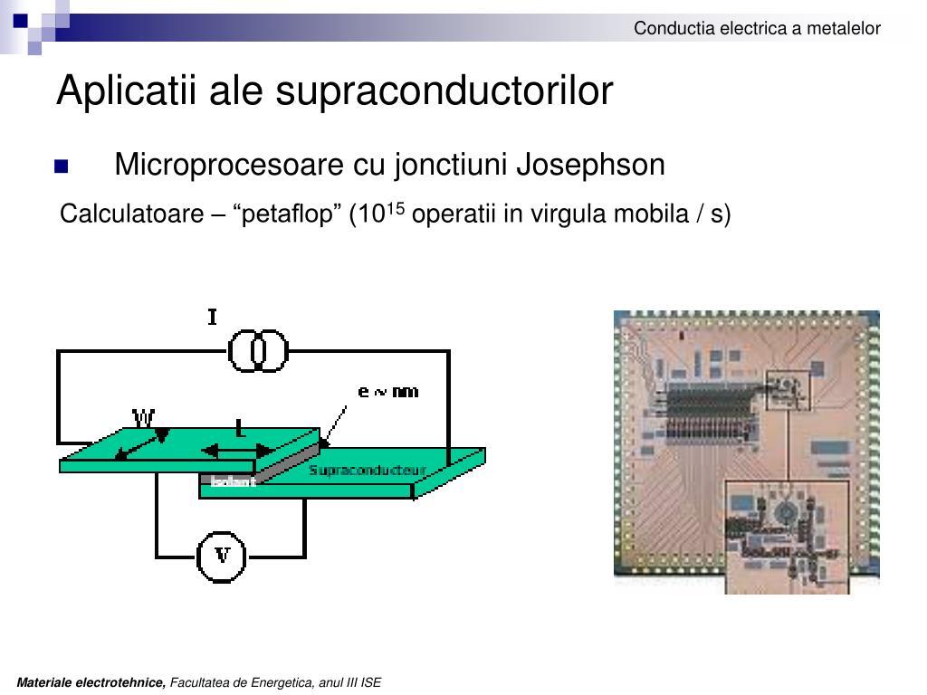 Aplicatii ale supraconductorilor