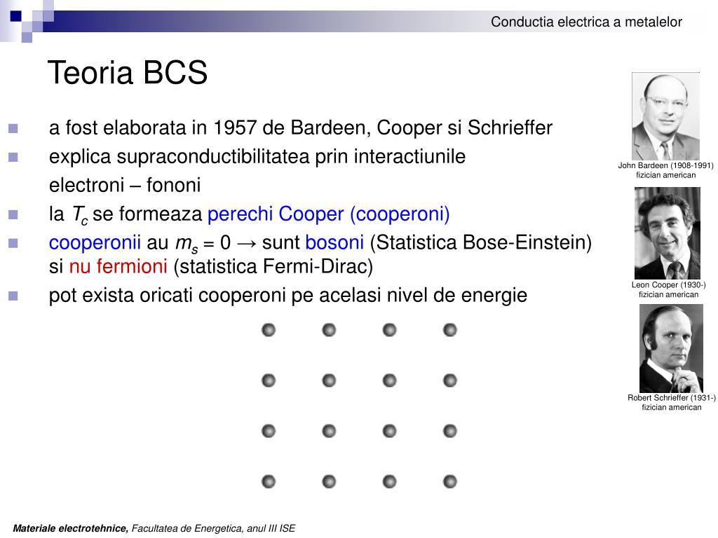 Teoria BCS
