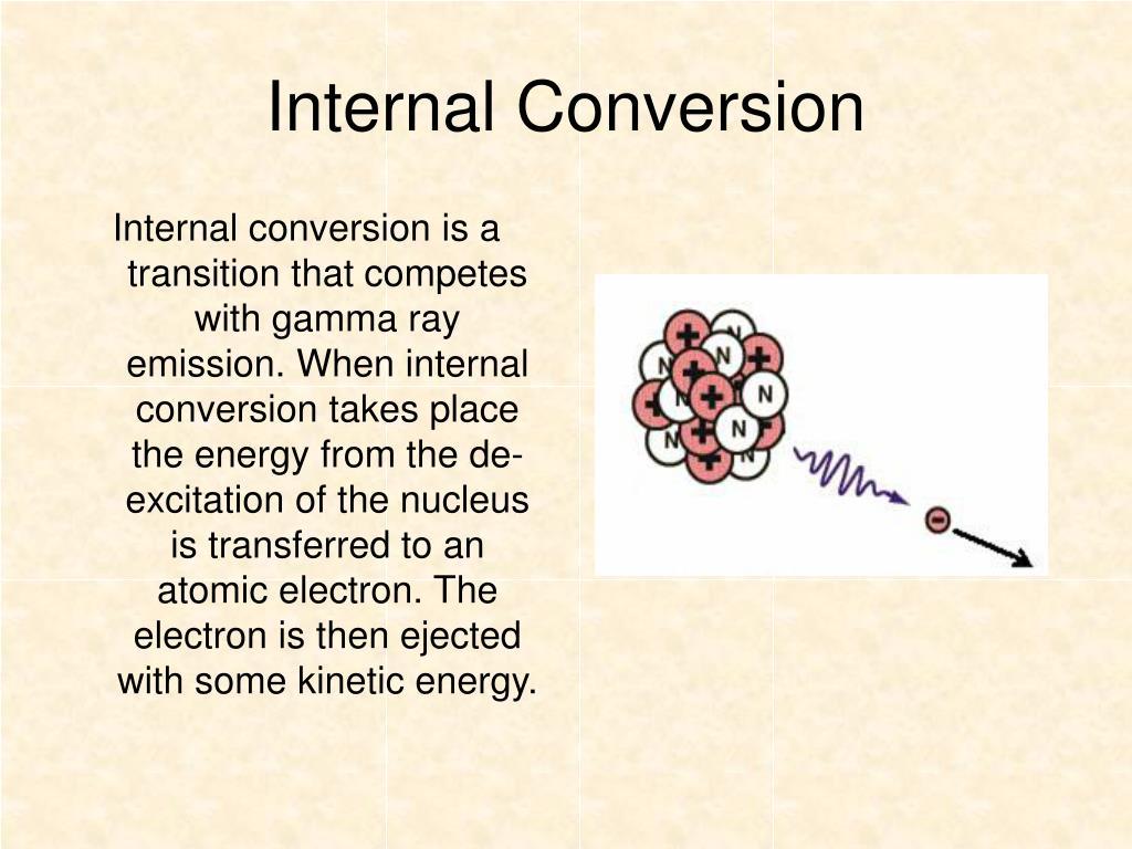 Internal Conversion