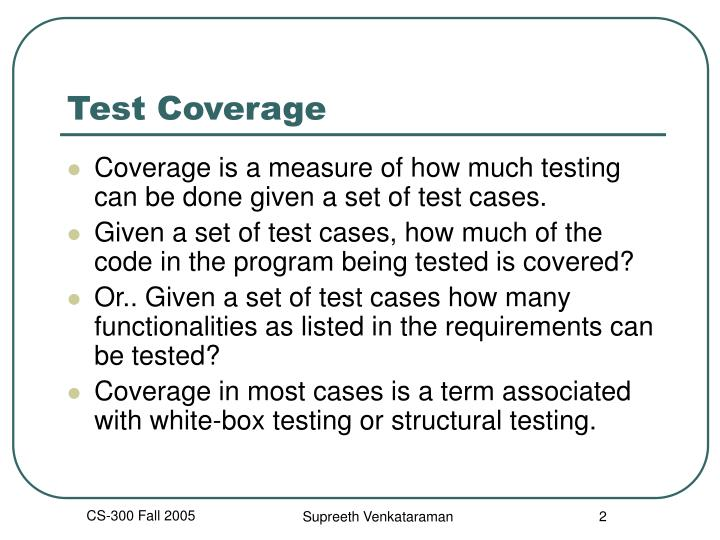 Test coverage2