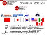 organizational partners ops