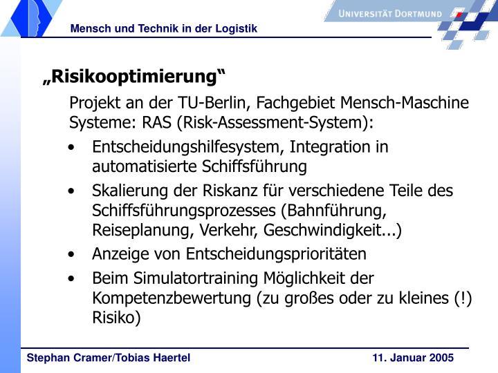 """""""Risikooptimierung"""""""