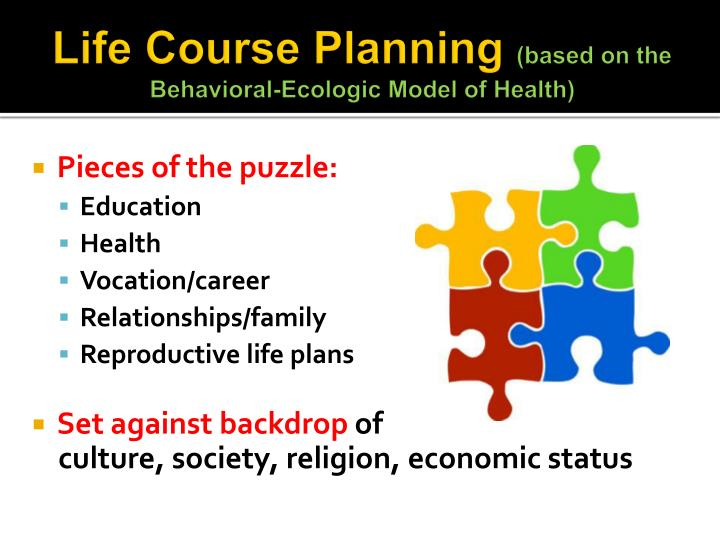 Life Course Planning
