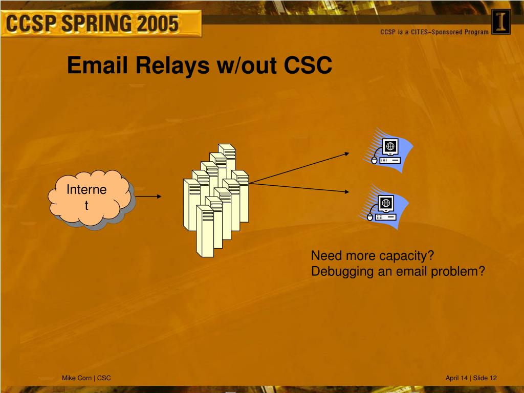 Email Relays w/out CSC