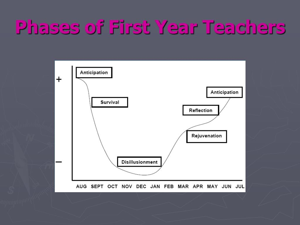Phases of First Year Teachers
