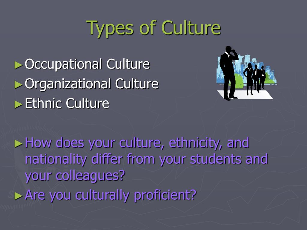 Types of Culture