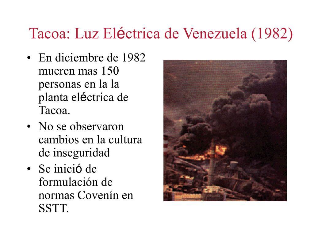 Tacoa: Luz El